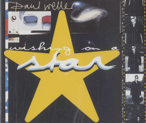 "Paul Weller Wishing On A Star CD single (CD5 / 5"") UK WELC5WI490925"