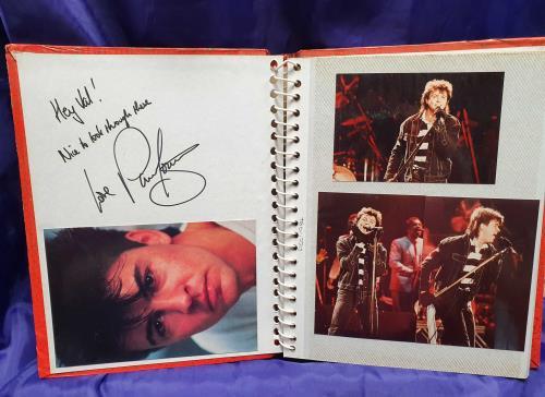 Paul Young Concert Photographs - Autographed memorabilia UK PYOMMCO727950