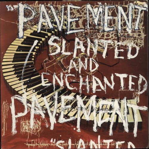 Pavement Slanted And Enchanted - EX vinyl LP album (LP record) UK PMTLPSL501049