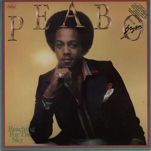 Peabo Bryson Reaching For The Sky vinyl LP album (LP record) US PEALPRE626953