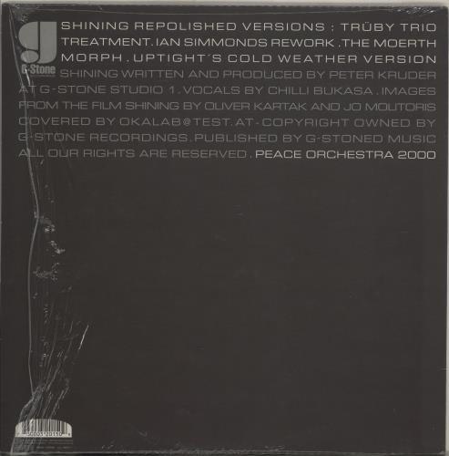 "Peace Orchestra Shining Repolished Versions 12"" vinyl single (12 inch record / Maxi-single) Austrian 19X12SH756651"