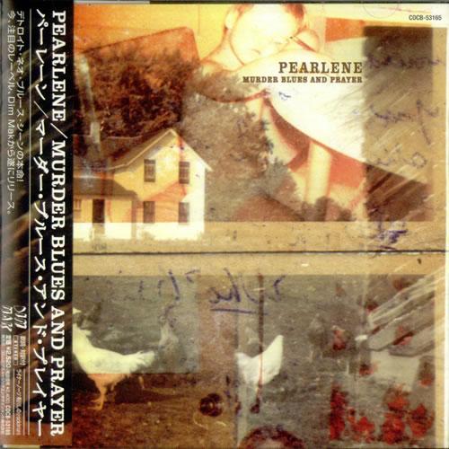 Pearlene Murder Blues And Prayer CD album (CDLP) Japanese PE3CDMU531777
