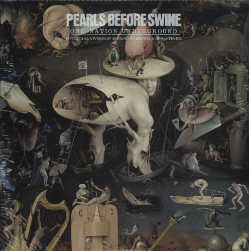 Pearls Before Swine One Nation Underground - Sealed vinyl LP album (LP record) US PBSLPON715740