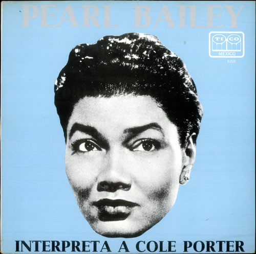 Pearl Bailey Interpreta A Cole Porter vinyl LP album (LP record) Mexican PXCLPIN516646