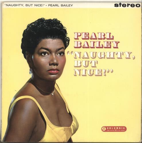 Pearl Bailey Naughty But Nice vinyl LP album (LP record) UK PXCLPNA696614