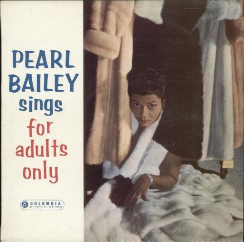 """Pearl Bailey Pearl Bailey Sings For Adults Only - Factory Sample 10"""" vinyl single (10"""" record) UK PXC10PE699623"""