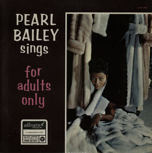 Pearl Bailey Sings For Adults Only vinyl LP album (LP record) UK PXCLPSI567541