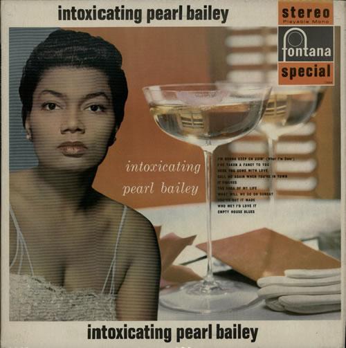 Pearl Bailey The Intoxicating Pearl Bailey vinyl LP album (LP record) UK PXCLPTH635741