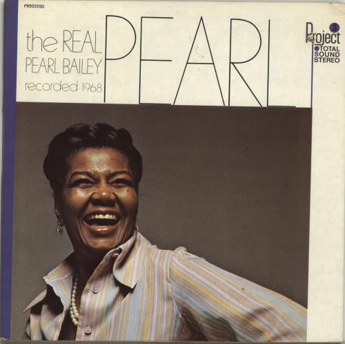 Pearl Bailey The Real Pearl vinyl LP album (LP record) US PXCLPTH550810