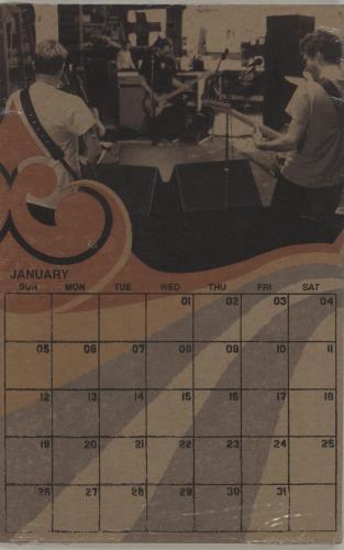 Pearl Jam 2003 Fanclub Calendar - Sealed memorabilia UK PJAMMFA383259