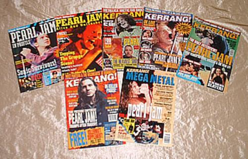 Pearl Jam A Collection Of Magazines magazine UK PJAMAAC295290