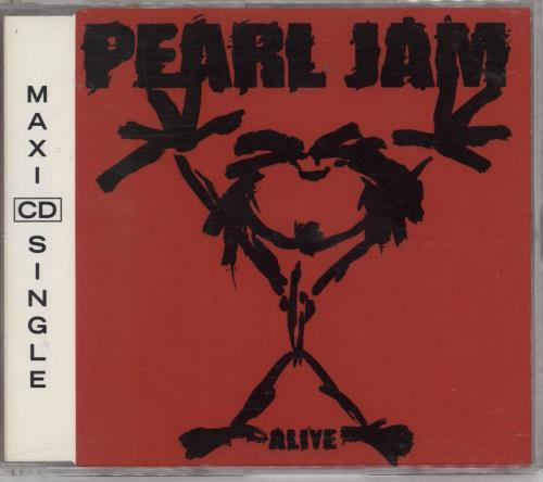 Pearl Jam Alive Austrian CD single (CD5 / 5