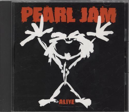 """Pearl Jam Alive CD single (CD5 / 5"""") Japanese PJAC5AL765714"""