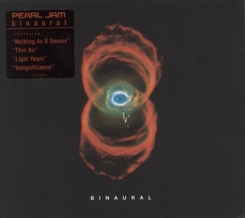 Pearl Jam Binaural CD album (CDLP) Austrian PJACDBI722872