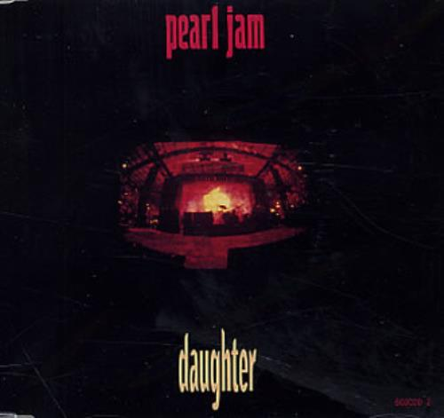 """Pearl Jam Daughter CD single (CD5 / 5"""") Austrian PJAC5DA174047"""