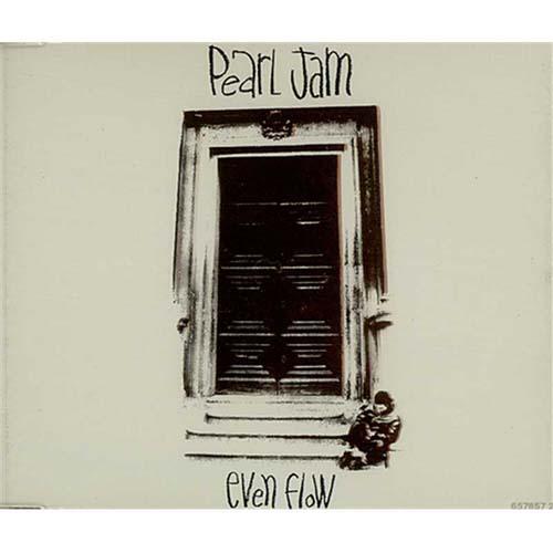 "Pearl Jam Even Flow CD single (CD5 / 5"") UK PJAC5EV48867"
