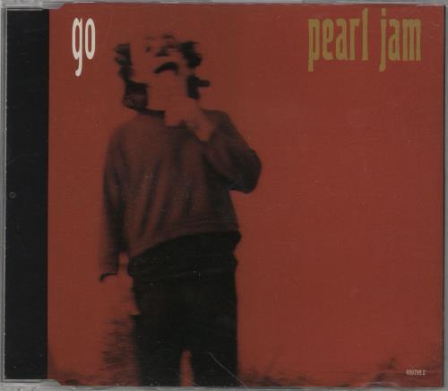 """Pearl Jam Go CD single (CD5 / 5"""") Austrian PJAC5GO310432"""