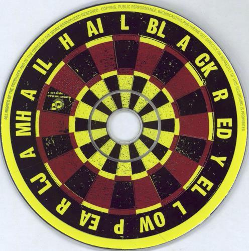 """Pearl Jam Hail Hail CD single (CD5 / 5"""") South African PJAC5HA81127"""