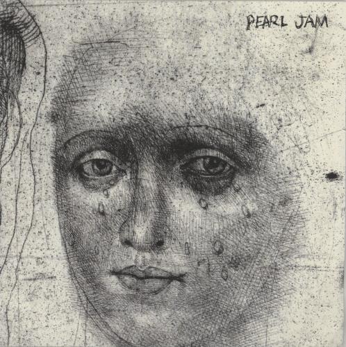 "Pearl Jam Happy When I'm Crying 7"" vinyl single (7 inch record) US PJA07HA104328"