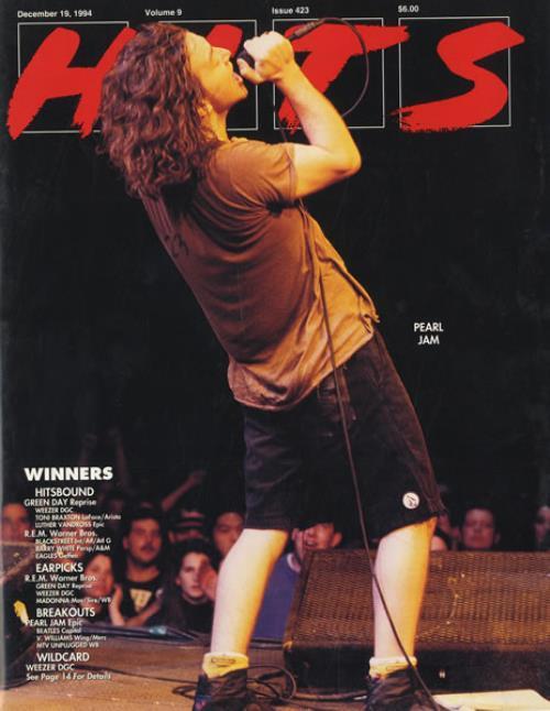 Pearl Jam Hits magazine US PJAMAHI435221