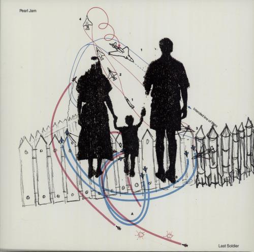 "Pearl Jam Last Soldier 7"" vinyl single (7 inch record) US PJA07LA224318"