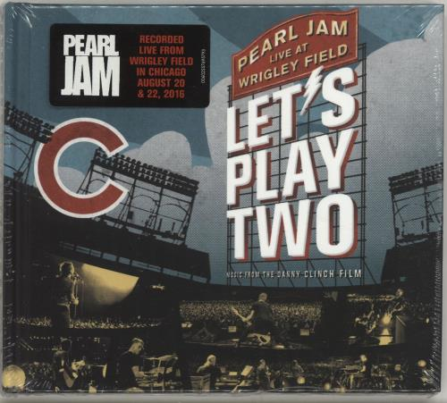 Pearl Jam Let's Play Two - Sealed CD album (CDLP) UK PJACDLE703720