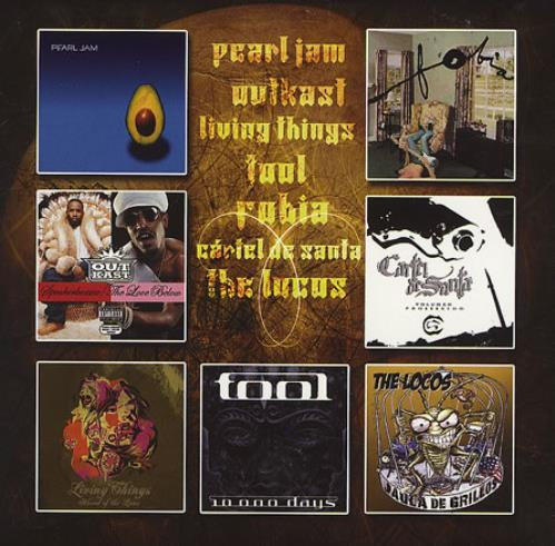 "Pearl Jam Life Wasted CD single (CD5 / 5"") Mexican PJAC5LI368514"