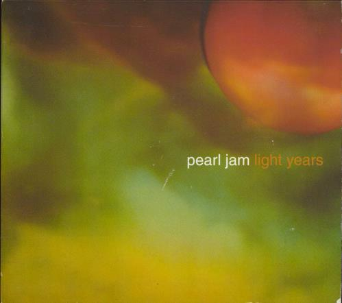 "Pearl Jam Light Years CD single (CD5 / 5"") US PJAC5LI248188"