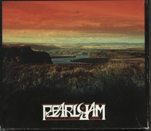 Pearl Jam Live At The Gorge - EX 7-CD album set UK PJA7CLI768185
