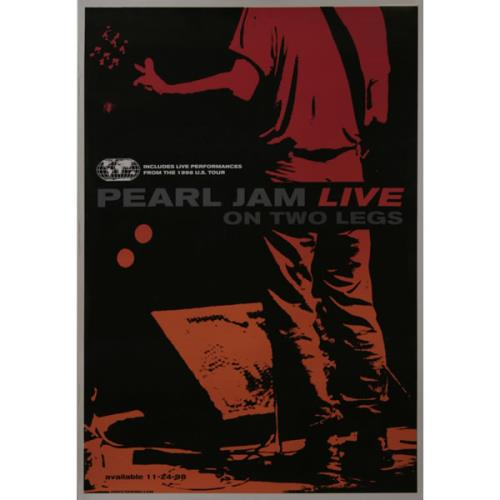 Pearl Jam Live On Two Legs US poster (505627)