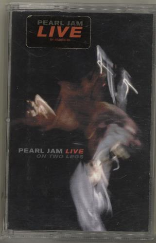 Pearl Jam Live On Two Legs cassette album Dutch PJACLLI702739