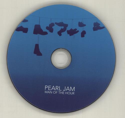 "Pearl Jam Man Of The Hour CD single (CD5 / 5"") US PJAC5MA315080"
