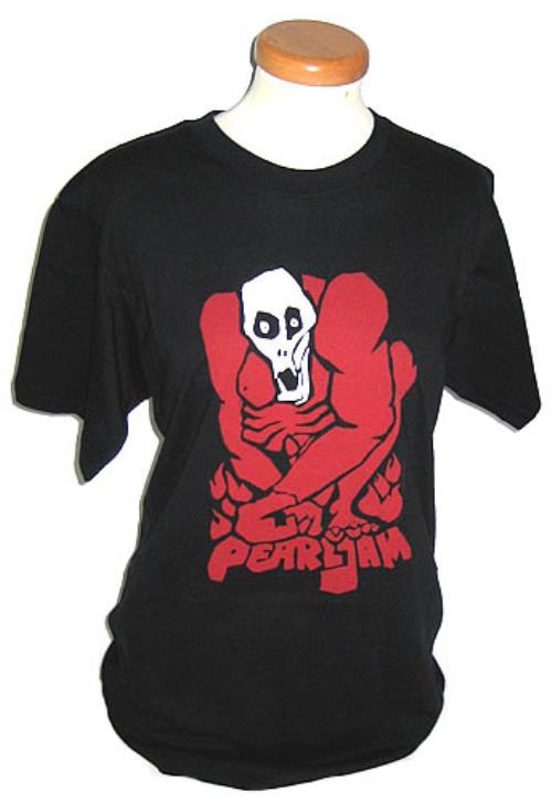 Pearl Jam Muscle Skull T-Shirt - Medium t-shirt UK PJATSMU418761