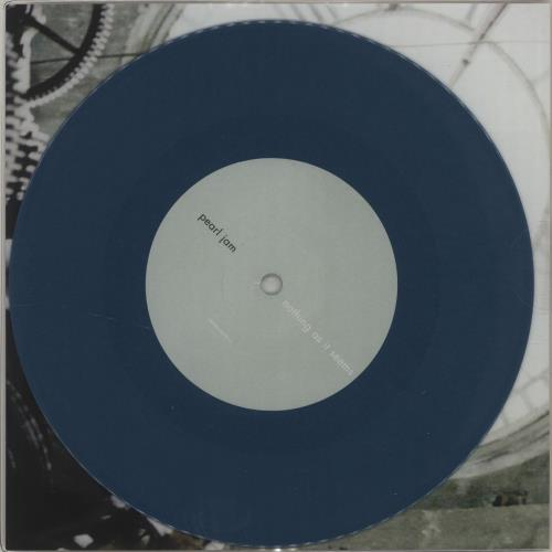 "Pearl Jam Nothing As It Seems - 2017 Issue - Blue Vinyl + Sealed 7"" vinyl single (7 inch record) UK PJA07NO684880"
