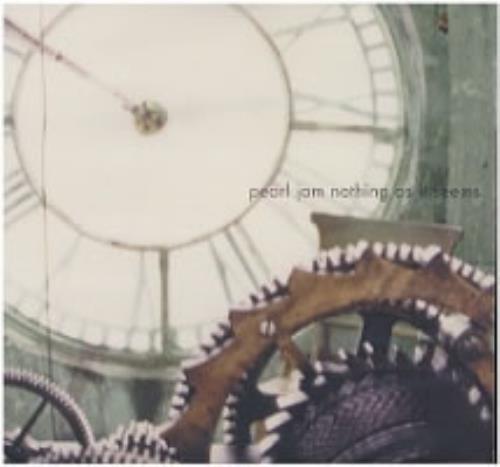 "Pearl Jam Nothing As It Seems CD single (CD5 / 5"") US PJAC5NO155508"
