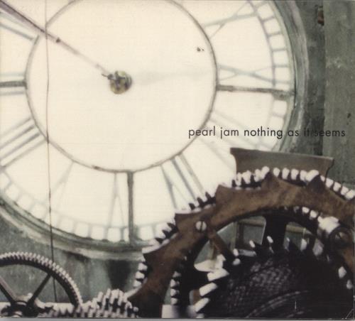 "Pearl Jam Nothing As It Seems CD single (CD5 / 5"") US PJAC5NO458973"
