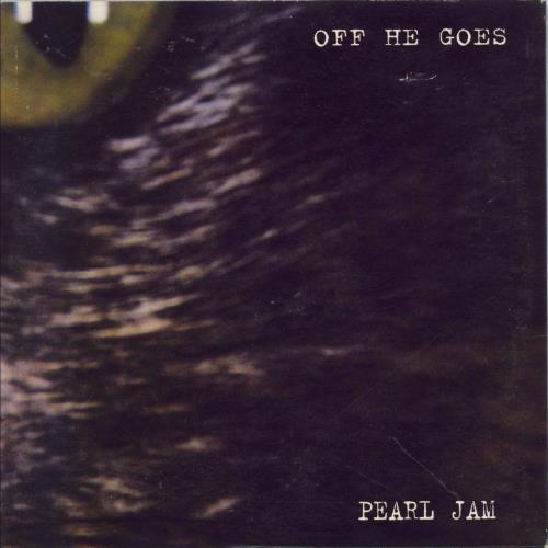 "Pearl Jam Off He Goes CD single (CD5 / 5"") Australian PJAC5OF78413"
