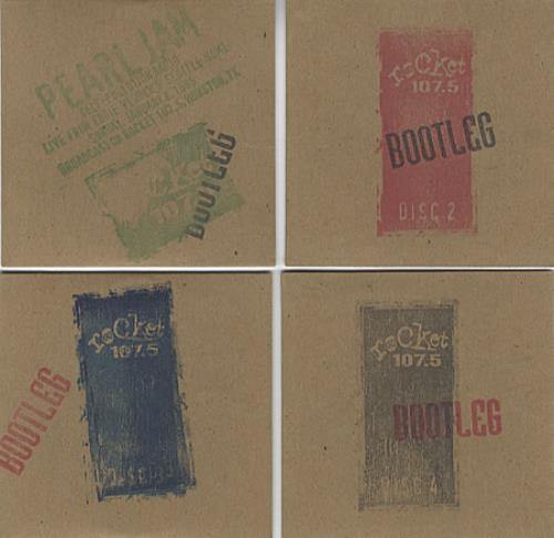 Pearl Jam Self Pollution Radio - Live From Eddie Vedder's Seattle Home 4-CD album set US PJA4CSE323290