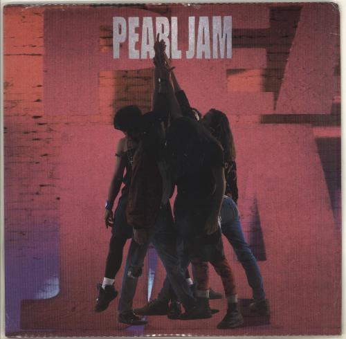 Pearl Jam Ten - Sealed vinyl LP album (LP record) US PJALPTE707860
