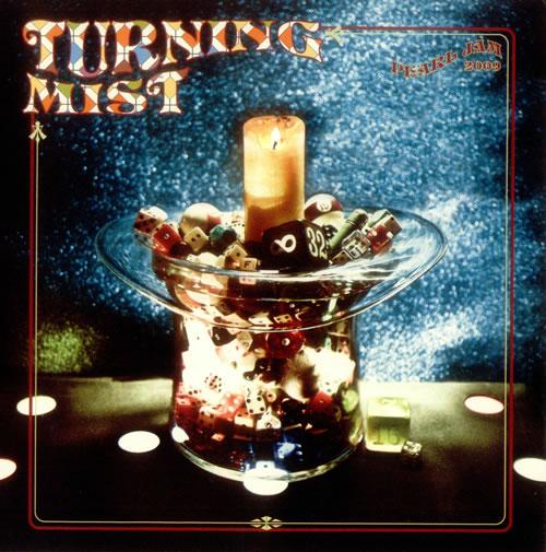 "Pearl Jam Turning Mist 7"" vinyl single (7 inch record) UK PJA07TU539953"
