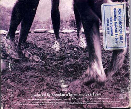 Pearl Jam Vs CD album (CDLP) US PJACDVS358469