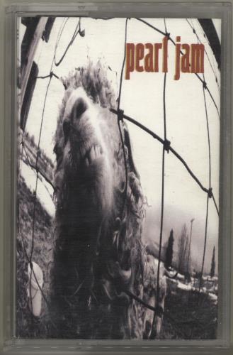 Pearl Jam Vs cassette album UK PJACLVS702738