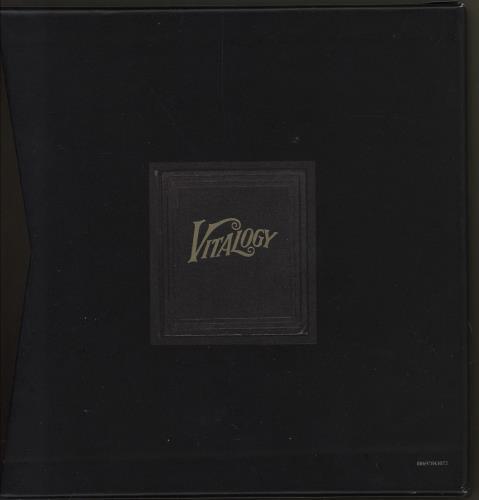 Pearl Jam Vs./Vitalogy 3-CD album set (Triple CD) UK PJA3CVS750883