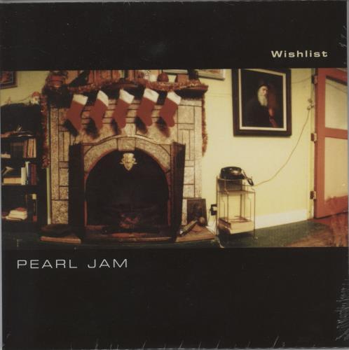 "Pearl Jam Wishlist - Sealed 7"" vinyl single (7 inch record) UK PJA07WI764671"