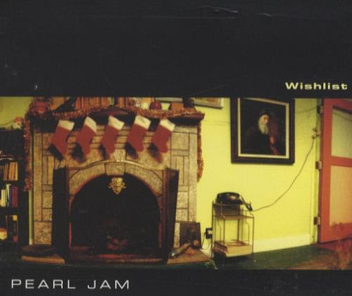 """Pearl Jam Wishlist CD single (CD5 / 5"""") US PJAC5WI112261"""