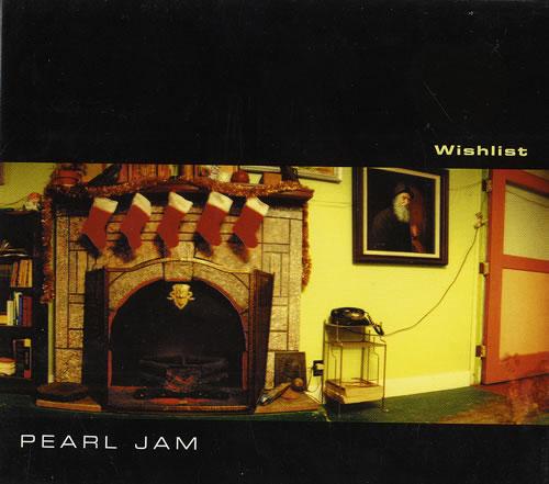 "Pearl Jam Wishlist CD single (CD5 / 5"") UK PJAC5WI323450"