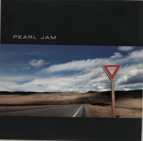 Pearl Jam Yield vinyl LP album (LP record) US PJALPYI593924