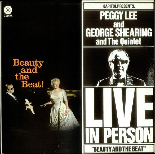 Peggy Lee Beauty And The Beat! vinyl LP album (LP record) Dutch PEGLPBE534834