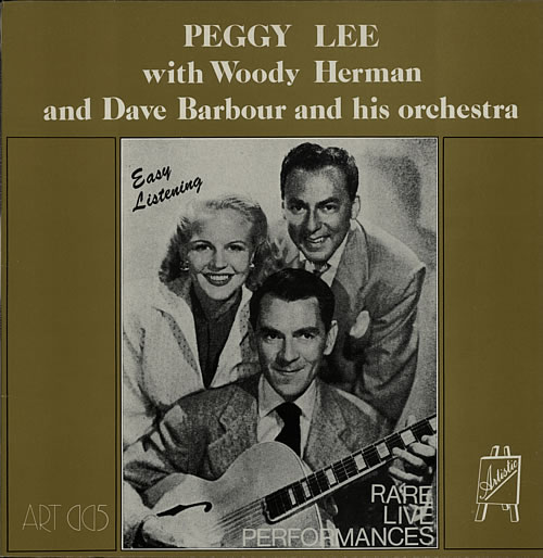 Peggy Lee Easy Listening vinyl LP album (LP record) UK PEGLPEA614118