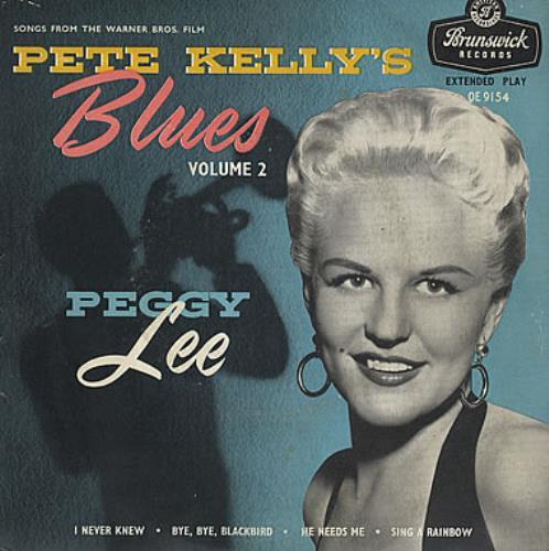 "Peggy Lee Pete Kelly's Blues Volume 2 7"" vinyl single (7 inch record) UK PEG07PE377146"